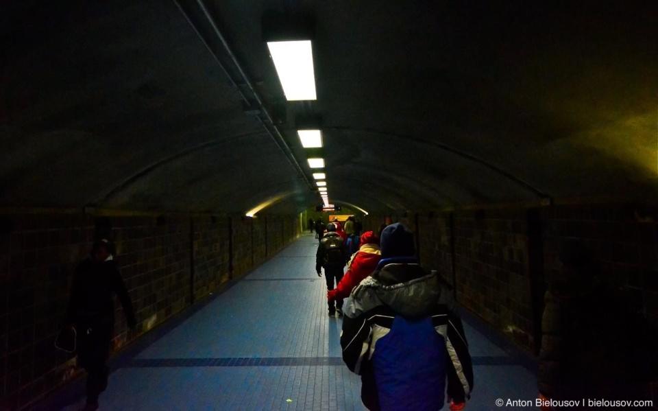 Montréal Metro Path