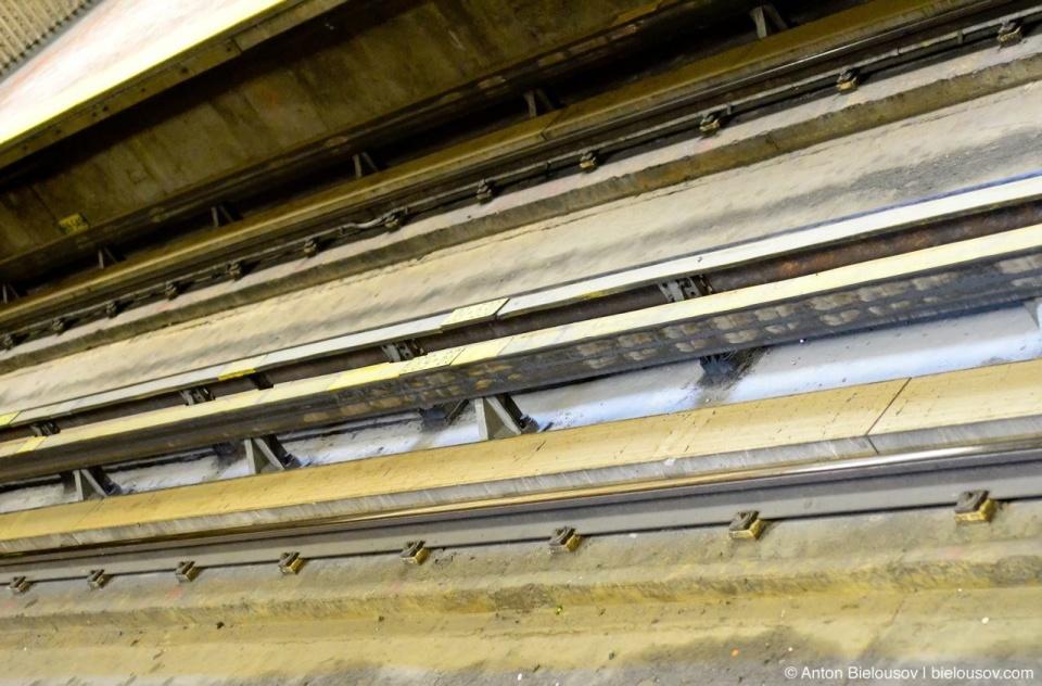 Montréal Metro Rails