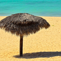 Beach at Club Amigo Atlantico Guardalavaca hotel