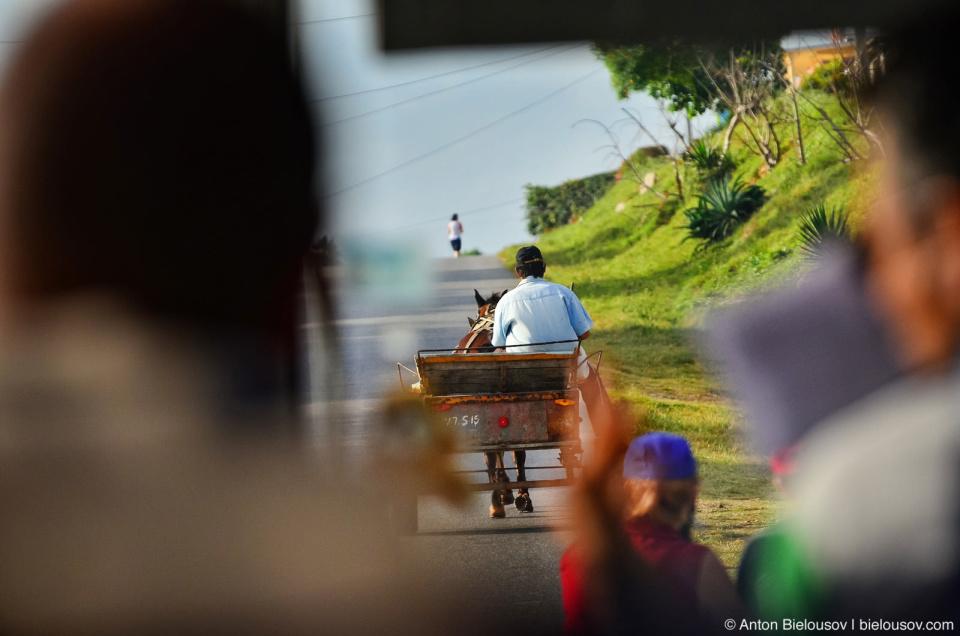 Cuban horse-powered transport