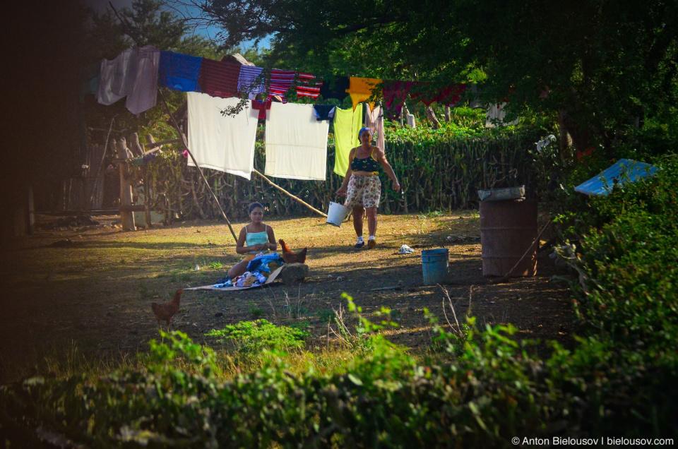 Cuban village yard