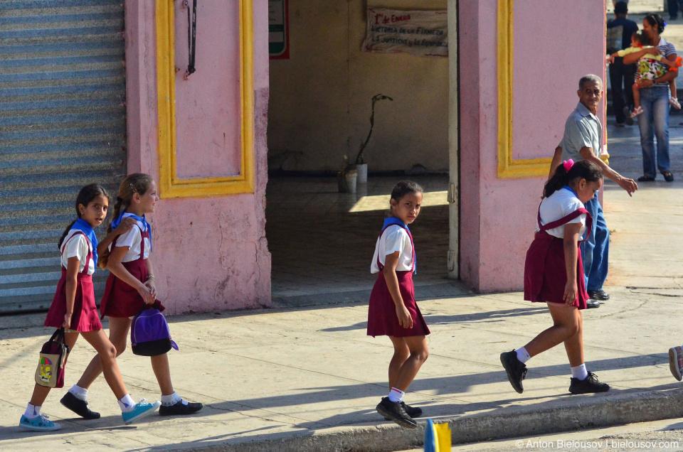 Cuban pioneers