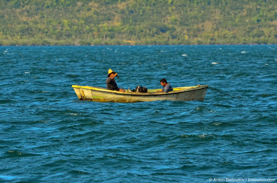 Cuban fishermen