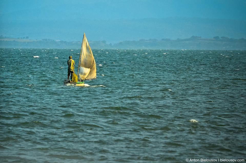 Cuban fishing boat