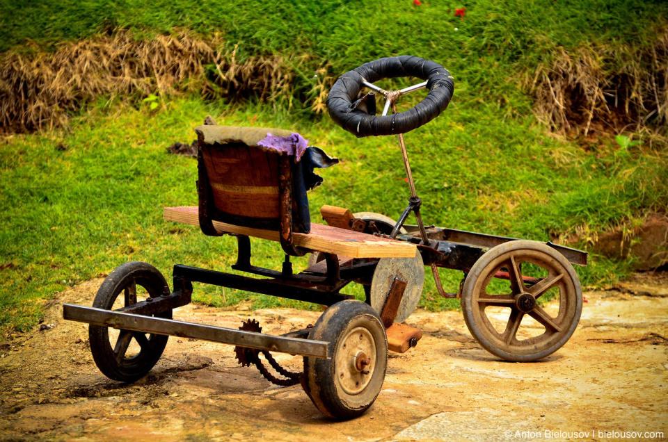 Cuban village toy car