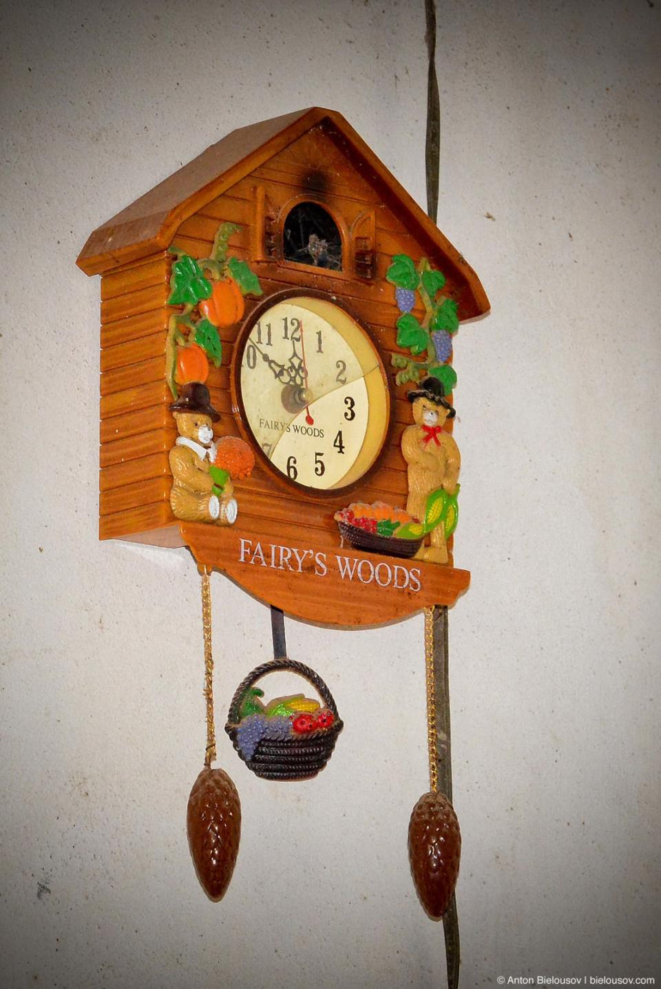 Cuban village house cuckoo-clock