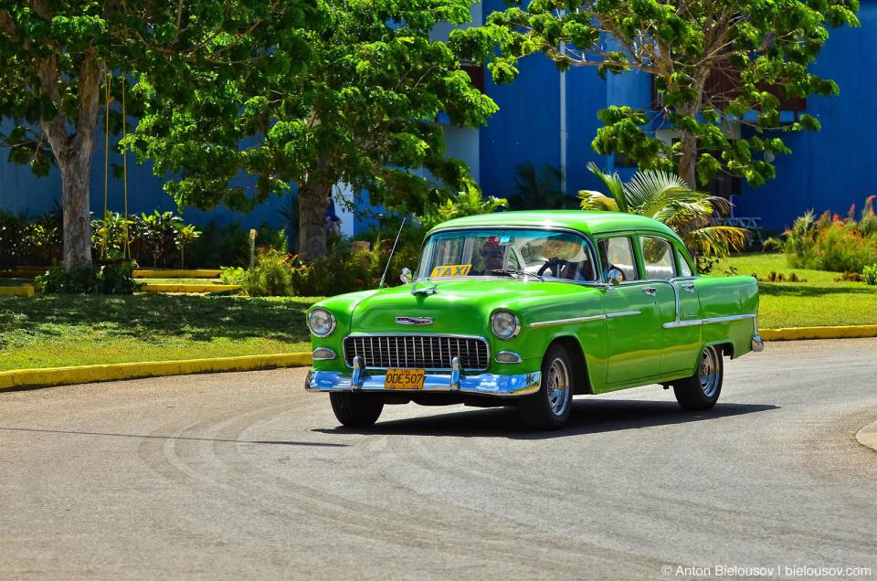 Cuban vintage Chevy