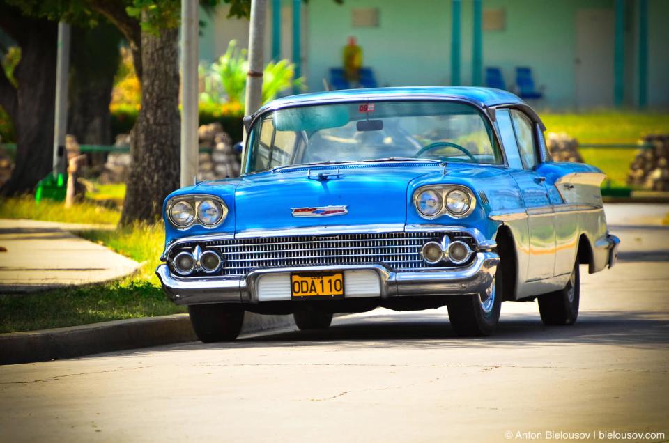 Cuban vintage car
