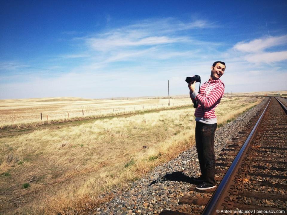 Anton Bielousov — Transcanetnoexp happy photographer