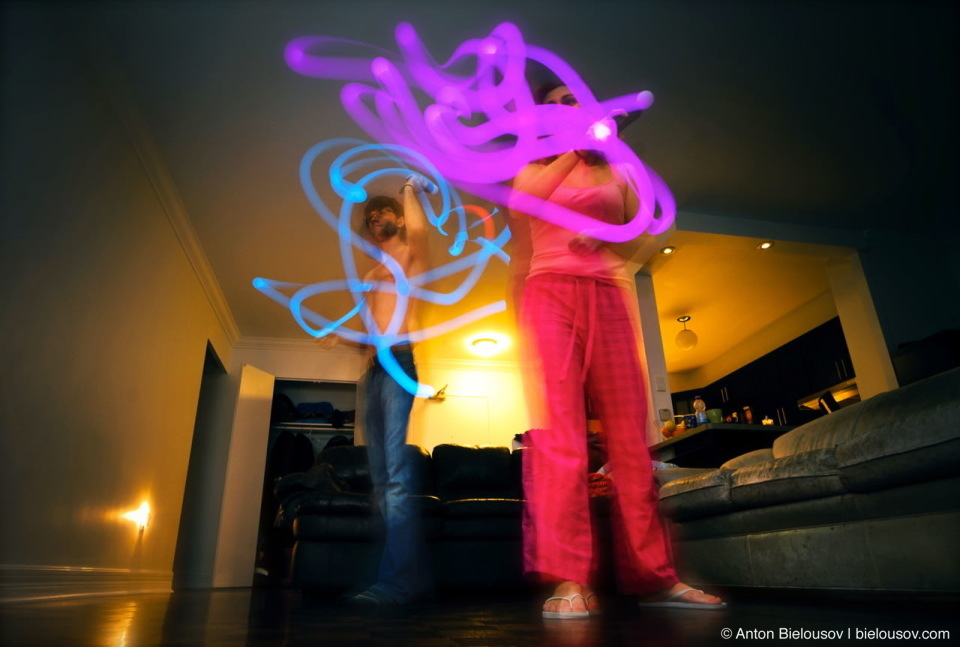 PS3 Move Long Exposure