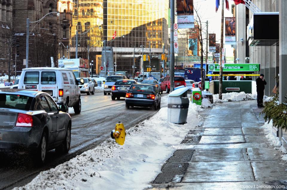 Toronto Streets after Snow Storm