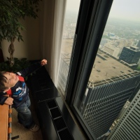 View from Toronto-Dominion Centre 54th floor