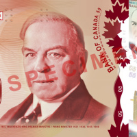 New Canada $50 Polymer banknote