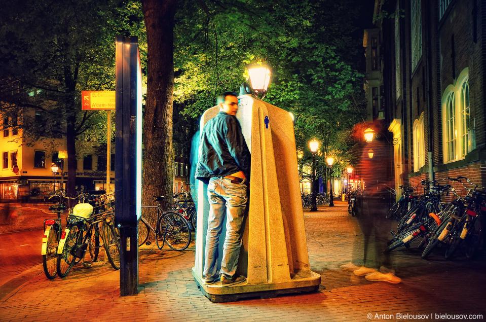 Amsterdam Men Street Public Toilets