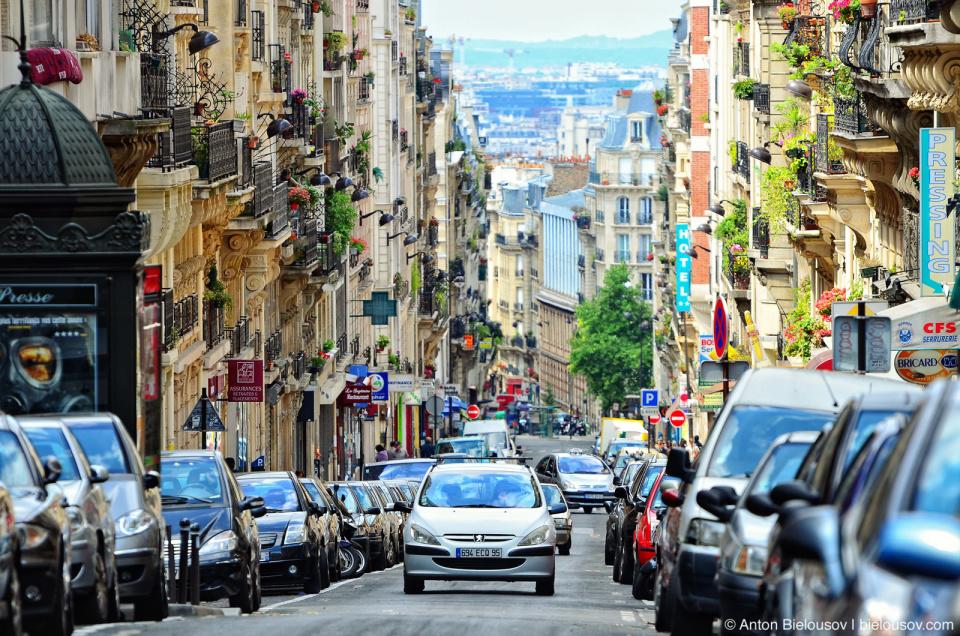 Paris Street Parking Issues