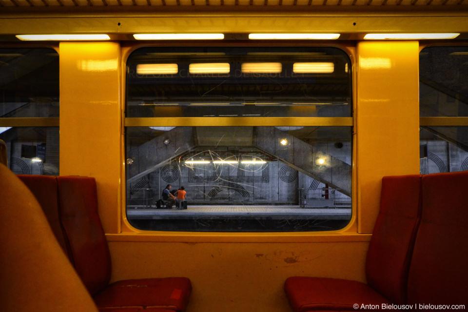 Paris RER station