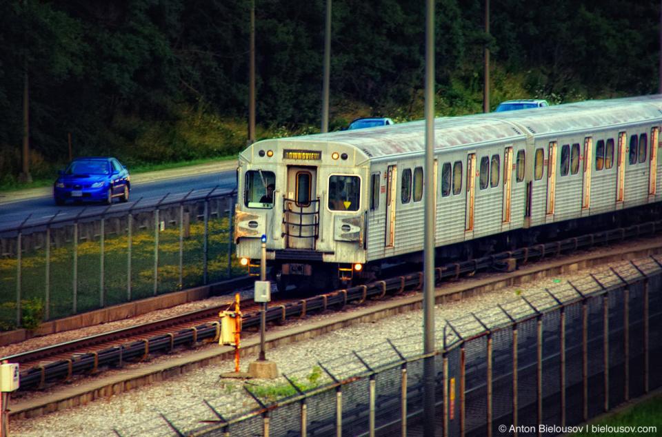 Toronto TTC Subway Train