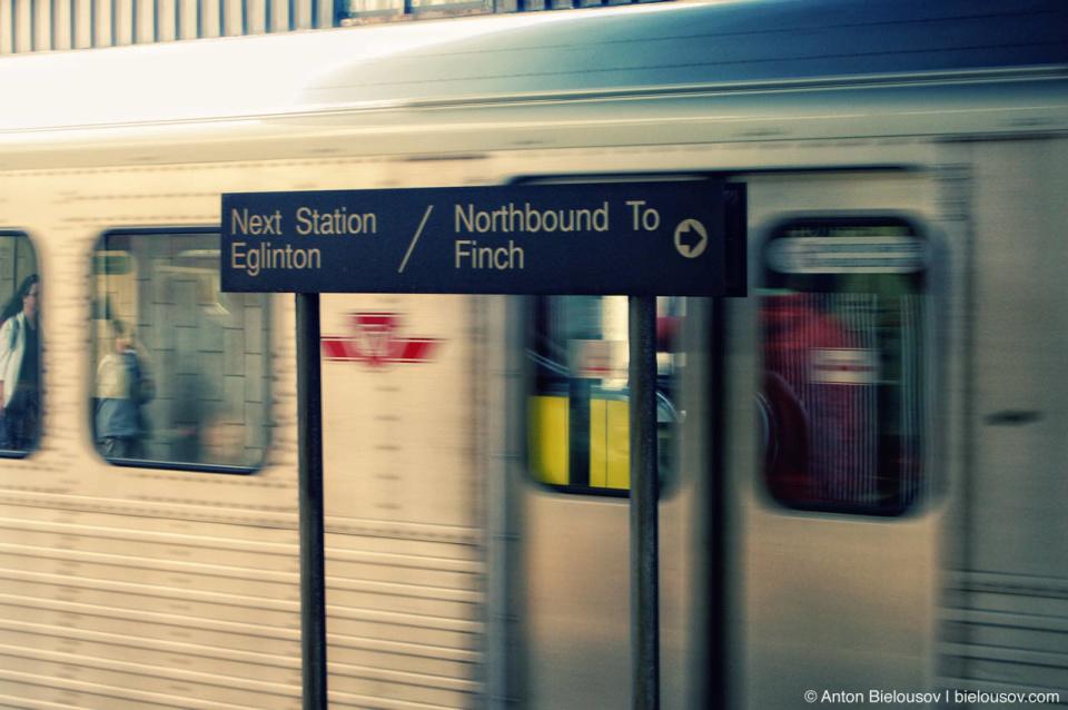 Toronto TTC Subway Directions