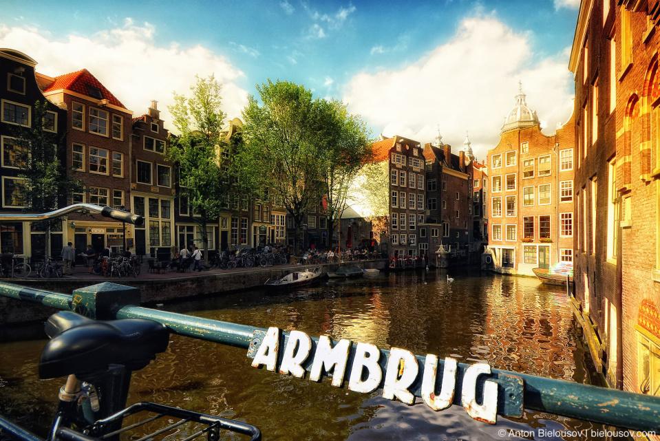 Amsterdam Armbrug Bridge