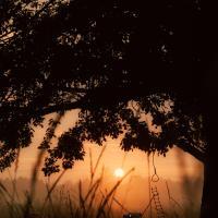 Рисунок на фотографии — Приход последнего дня