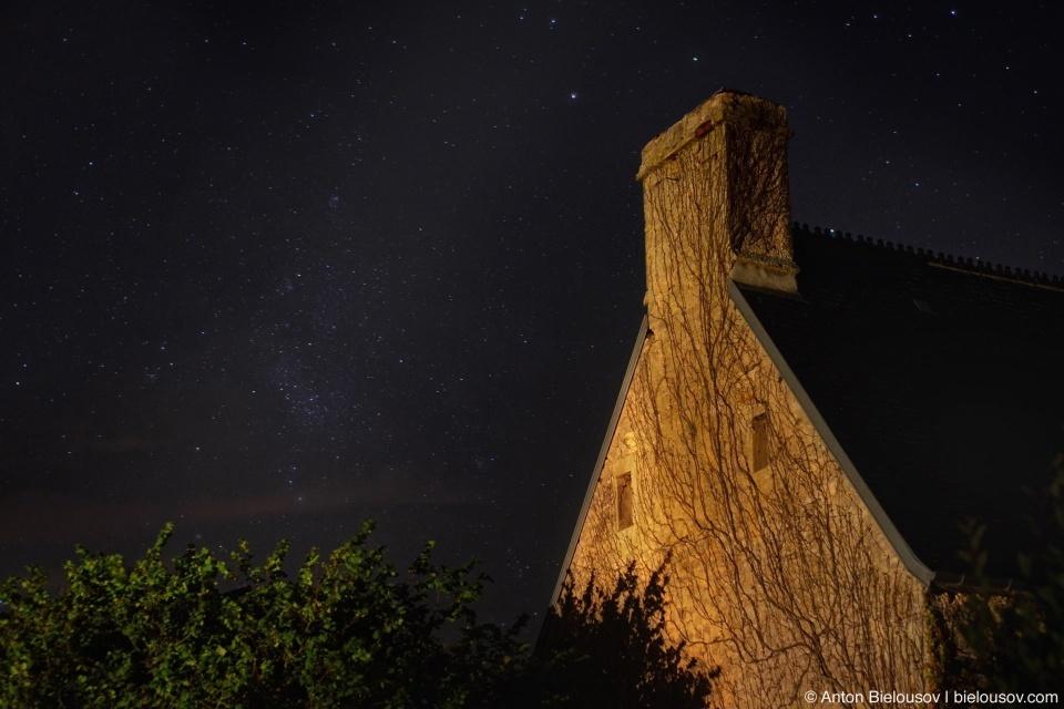 Collevile-sur-Mer Night Sky