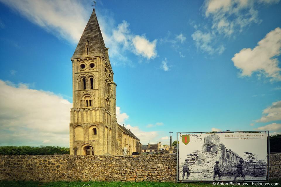 Colleville-sur-Mer église