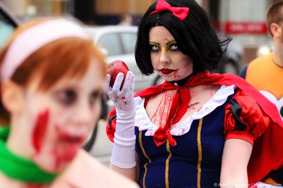 Toronto Zombie Walk 2011 Photo: Snow White