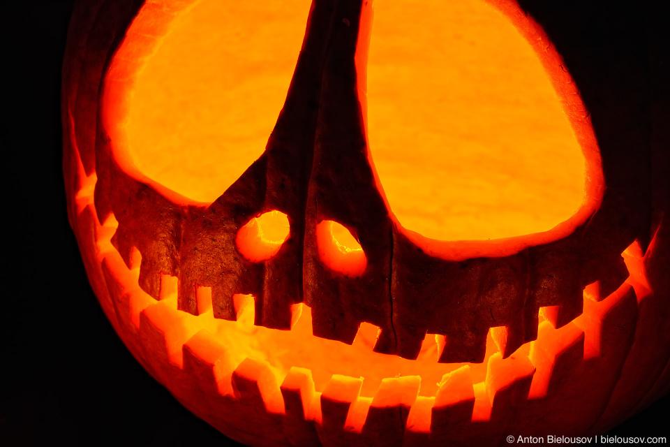 Tim Burton's Pumpkin Jack, Jack-o-lantern