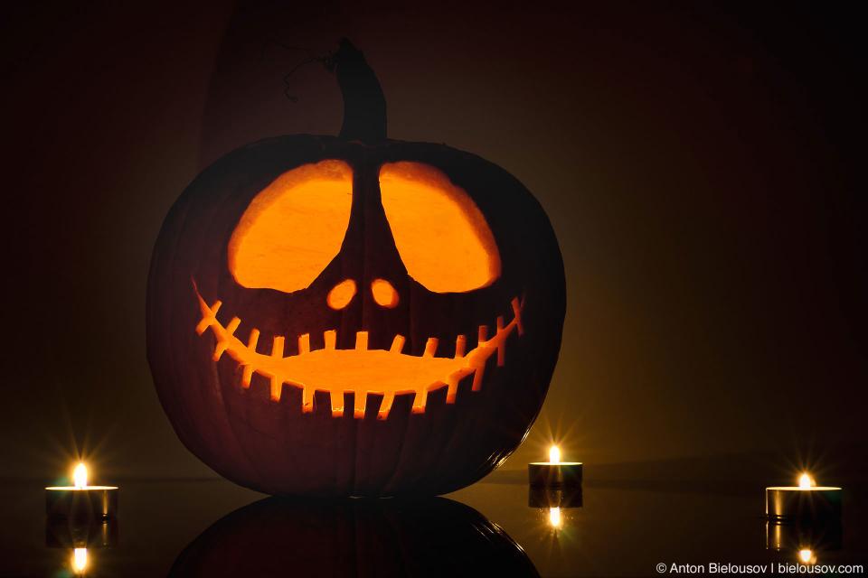 Tim Burton's Jack-o-lantern