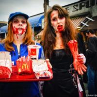 Toronto Zombie Walk 2010, McDonalds Brains
