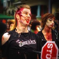 Toronto Zombie Walk Parade, 2010