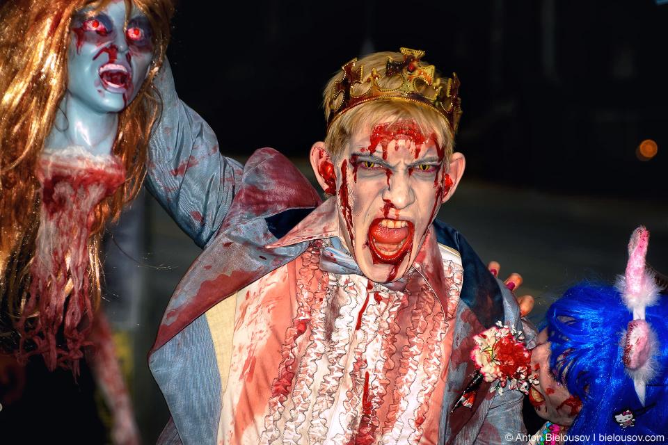 Toronto Zombie Walk 2010 — Undead Prince