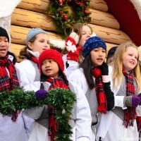 Christmas Choir on Toronto Santa Claus Parade