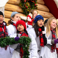 Christmas Choir on Toronto Santa Claus Parade