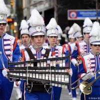 Marching Bands on Toronto Santa Claus Parade