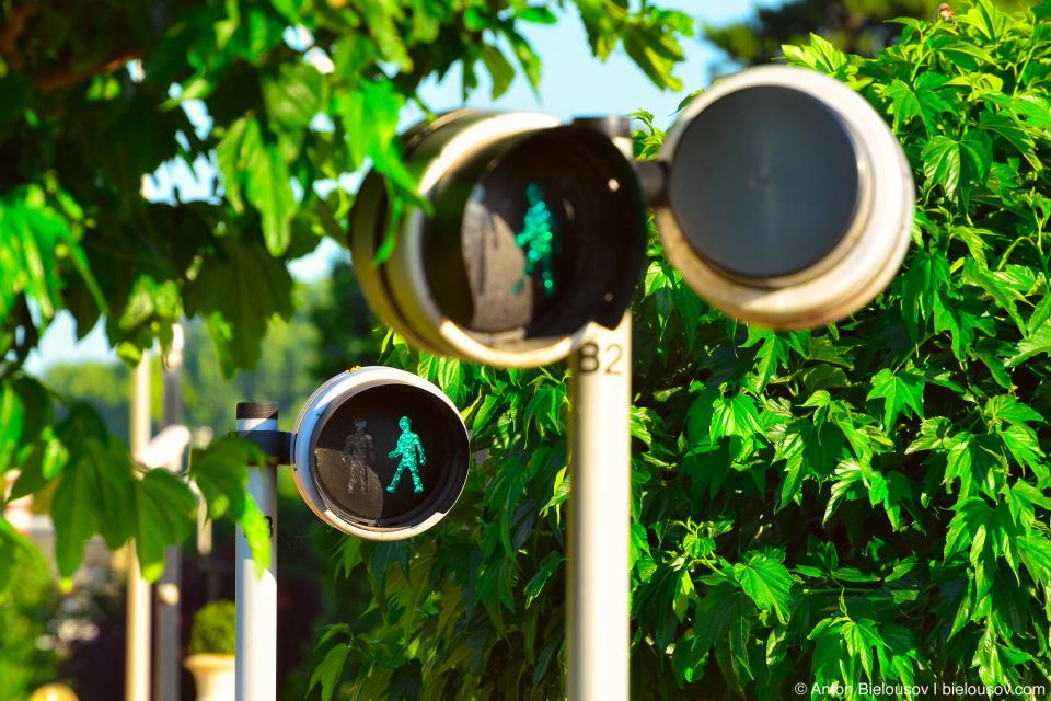 Типичный Нормандский светофор