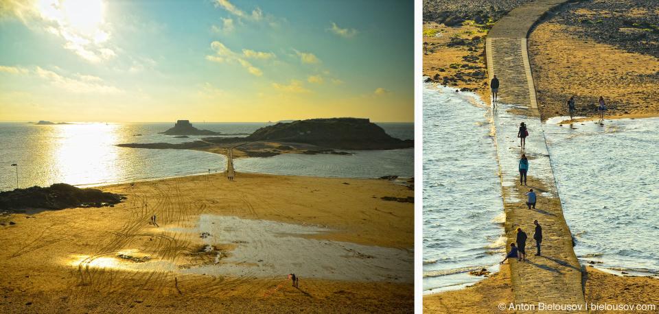Приливы и отливы в Saint-Malo