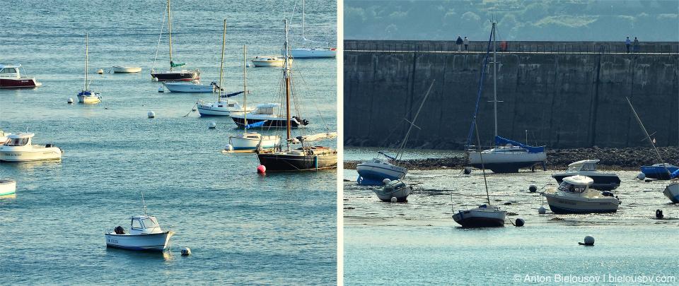 Прилив и отлив в Saint-Malo