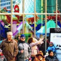 Santa Claus on Toronto Parade 2011