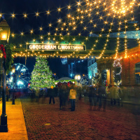 Toronto Christmas Market, Distillery Historic District