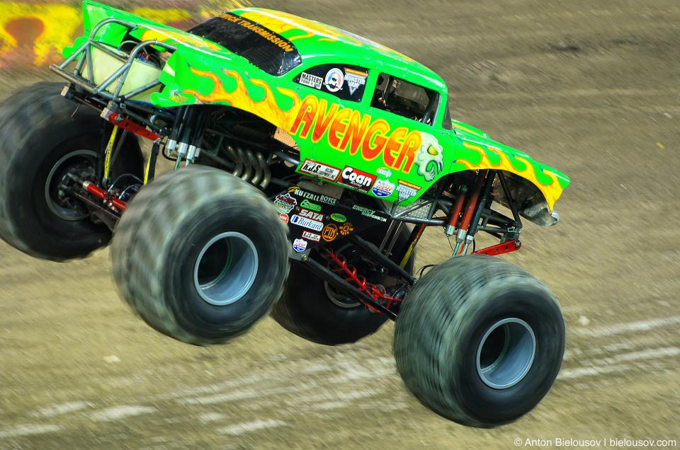 """Monster Jam Trucks, Toronto: """"Avenger"""""""
