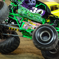 "Monster Jam Trucks, Toronto: ""Grave Digger'"