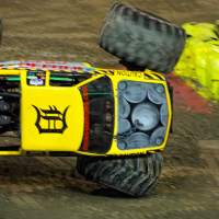 "Monster Jam Trucks, Toronto: ""Wrecking Crew"""