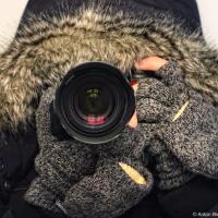 Канадский фотограф зимой