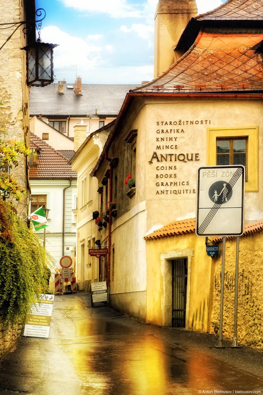 Street in Kutna Hora, Czech Republic
