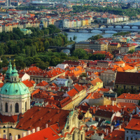 Прага, 7 мостов