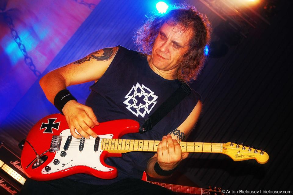 Владимир Холстинин, группа Ария в Харькове (2006)