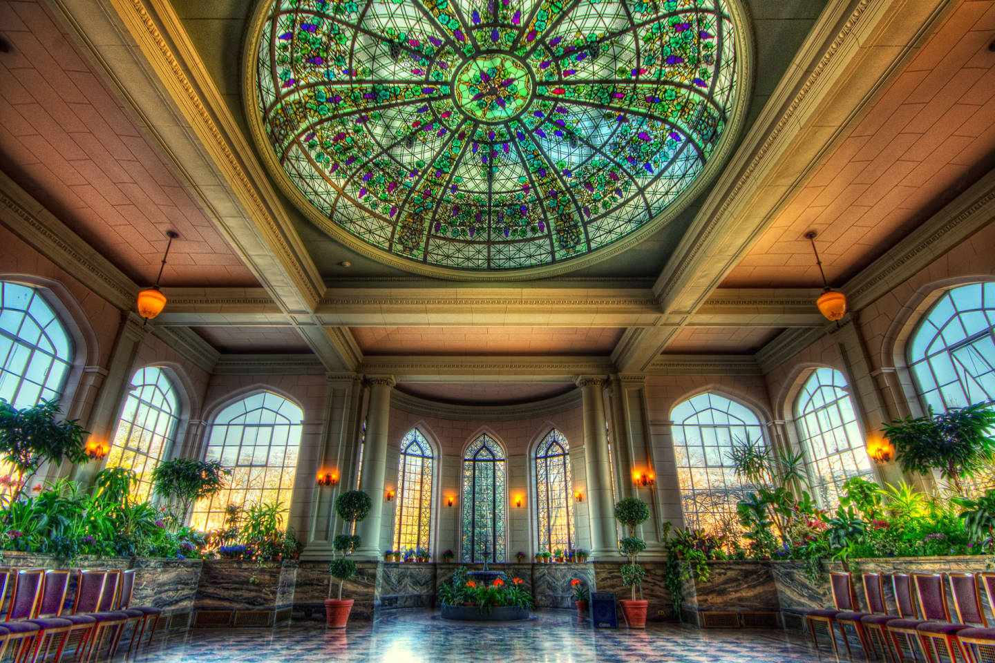 Casa Loma Conservatory HDR