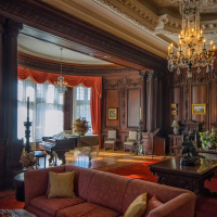 Casa Loma Living room