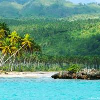 Dominican Republic, Samaná  ocean coast